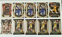 2013-20 Panini Select Lebron James Lot (10) Los Angeles Lakers