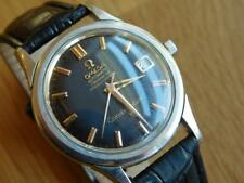 Black OMEGA Constellation Vintage Automatic Mens Watch Certified Chronometer