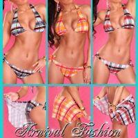 SEXY PUSH UP BIKINI + BEACH WRAP SWIMWEAR WOMEN PADDED SWIMSUIT bathing suit HOT