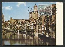 Spain MK 1964 Girona Rio Onar maximum Carte CARTE MAXIMUM CARD MC cm d3957