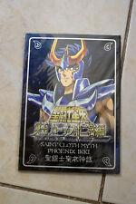 Saint Seiya Metal Plate Pour Myth Cloth - Ikki Phoenix