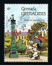 WALT DISNEY GRENADA - GRENADINES MICKEY 1 Francobollo 1989 nuovo !