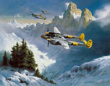 "Heinz Krebs P-38 Print ""Tribute to a Lockheed Classic"""