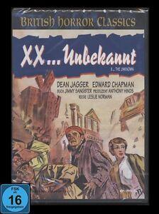 DVD XX - UNBEKANNT - HAMMER-FILM BRITISH HORROR CLASSICS (VORLÄUFER zu DER BLOB)