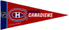 "MONTREAL CANADIENS~BRAND NEW NHL HOCKEY TEAM MINI SOUVENIR 9"" MINIATURE PENNANT"