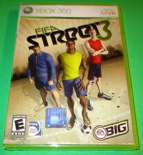 FIFA Street 3 Xbox 360   Factory Sealed! Free Shipping!