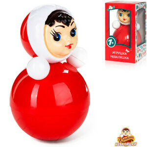 NEVALYASHKA 6С-001 Legendary Soviet Roly Poly, Russian Toy, Doll Baby Musical