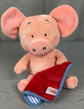 Wibbly Pig Kipper's Friend Mick Inkpen Book Red Blanket Stuffed Plush Toy 10""