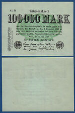 100.000 mark 1923 kassenfrisch/UNC ro.90a