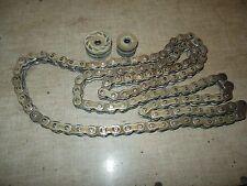 04 Honda CR 125 R o-ring o ring drive chain + rollers set