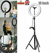 "10"" Studio LED 58W Ring Light 2M Reverse Stand Photo Video Selfie Makeup Beauty"