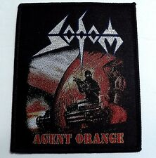 SODOM AGENT ORANGE  WOVEN PATCH