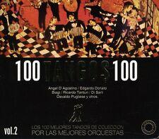 Various Artists - Vol. 2-100 Tangos 100 / Various [New CD] Argentina - Import