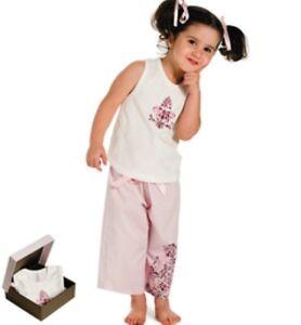 Kids Junior Cotton Pyjamas - Ariel (Pink)