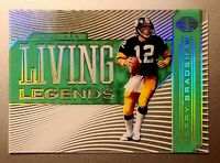 Terry Bradshaw - Steelers 2020 Panini Illusions LIVING LEGENDS (Green) Insert