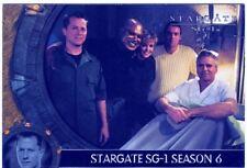 Stargate SG1 Season 6 Promo Card P3