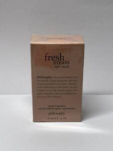 Philosophy Fresh Cream Soft Suede Spray Fragrance Eau De Toilette 2oz perfume