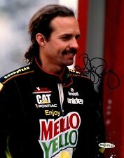Kyle Petty Signed NASCAR 8x10 Glossy Photo Upper Deck Authenticated (Damaged)