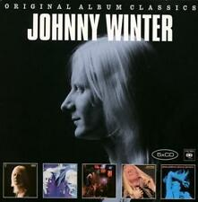 Johnny Winter / Second Winter, Live, Still Alive, Saints & Sinners (5 CDs, NEU!)