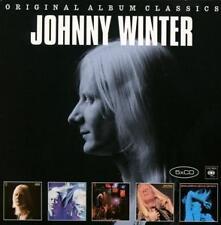 Johnny Winter / Second Winter, Live, Still Alive, Saints & Sinners (5 CDs, NEU!)