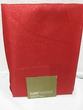 """LUX HABITAT VALENTINES HOLIDAY SHIMMER METALLIC TABLECLOTH 70"""" ROUND"""