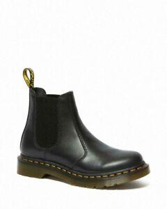 Dr Martens 2976 Womens Wanama Black Leather Chelsea Boots UK 6.5