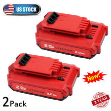 For PORTER CABLE PCC680L PCC685L PCC681L 20V Max Lithium-Ion 2.0Ah Battery 2pack