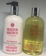 Molton Brown Orange & Bergamot Body Wash & Pink Pepperpod Body Lotion 300ml