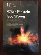 What Einstein Got Wrong 2017 CD Great Courses Science Physics + Guidebook