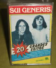 Sui Generis 20 Grandes Exitos Original 1985 Microfon Argentina Cassette