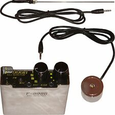 Professional Spy Microphone Listen Through Wall Door Concrete Steel Safe Pipes