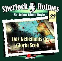 Sherlock Holmes 22 - Das Geheimnis der Gloria Scott CD Maritim Verlag Hörspiel