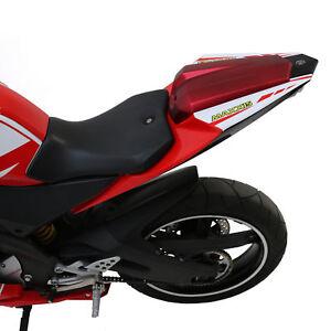 Single Seat/Sitz Schwanz Deckel Kit in Satin Rot für Yamaha YZF-R 125 08-13
