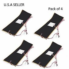 "Facon 4Pcs 7 1/4""x25"" RV Water Holding Tank Heater Pad With Automatic Thermostat"