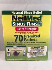 NeilMed Sinus Rinse Hypertonic Refill Pack (70 Sachets) nasal rinse