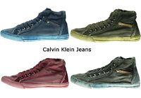 Calvin Klein Jeans Herren Sneaker Sneakers Schnür Schuhe 40 41 42 43 44 45 NEU
