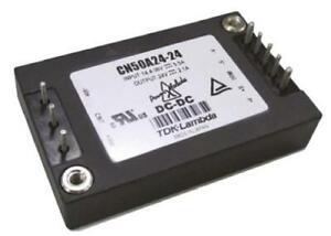 1 x TDK-Lambda 50.4W Isolated DC-DC Converter SMD Vin 14.4-36V Vout 24Vdc