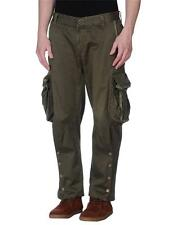$750 ETRO Milano Military Green Cargo Pants sz 34 New Trousers Shorts 36