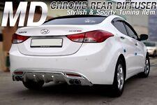 Bricx Chrome Rear Diffuser For Hyundai Elantra Avante 2011 2013