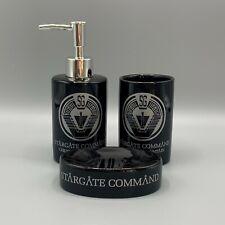 Stargate SG-1 inspired Stargate Command Bathroom Set