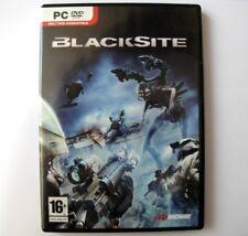 BLACKSITE - jeu PC . Version Francaise / French version. PC game.