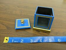 Little Box (Blue) by Clarence Miller - Chalet Magic Magician Vintage