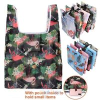 Lots Reusable Foldable Recycle Eco Grocery Bag Shopping Carry Bags Tote Handbag