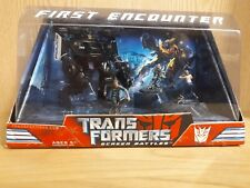 TRANSFORMERS - DECEPTICON BARRICADE - FIRST ENCOUNTER FIGURE SET - FRENZY