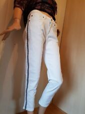 40 darkblue Jeggings Denim Röhre Zip Jeans Leggings CHEER Kurzgr 20