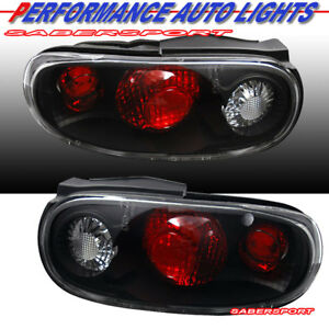 Set of Pair Black Altezza Style Taillights for 1990-1997 Mazda MX-5 Miata