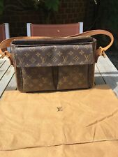 Authentic LOUIS VUITTON monogram Viva Cite GM Shoulder Bag France M51163