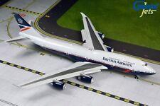 Pre Order Gemini Jets 1:200 Scale British Airways 747-400 Landor Slats G2BAW840F