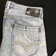 Levis SilverTab SLIM Blue Jeans Distressed Wash Size 31 x 30 Zipper Fly