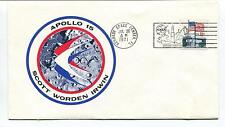 1971 Apollo 15 Scott Worden Irwin Kennedy Space Center Florida Space Cover
